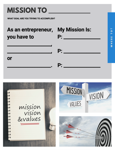 The Entrepreneur Mindset - eCourse and Workbook Combo