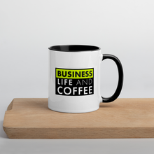 Load image into Gallery viewer, Business, Life, and Coffee Mug