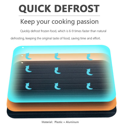 Food Meat Fruit Quick Defrosting Plate