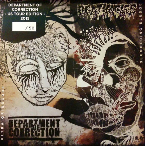 AGATHOCLES | DEPARTMENT OF CORRECTION - Ultra Grindcore vs Slumbering Sludge
