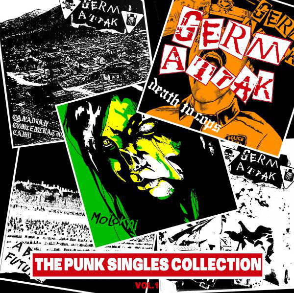 GERM ATTAK - The Punk Singles Collection, Vol. 1
