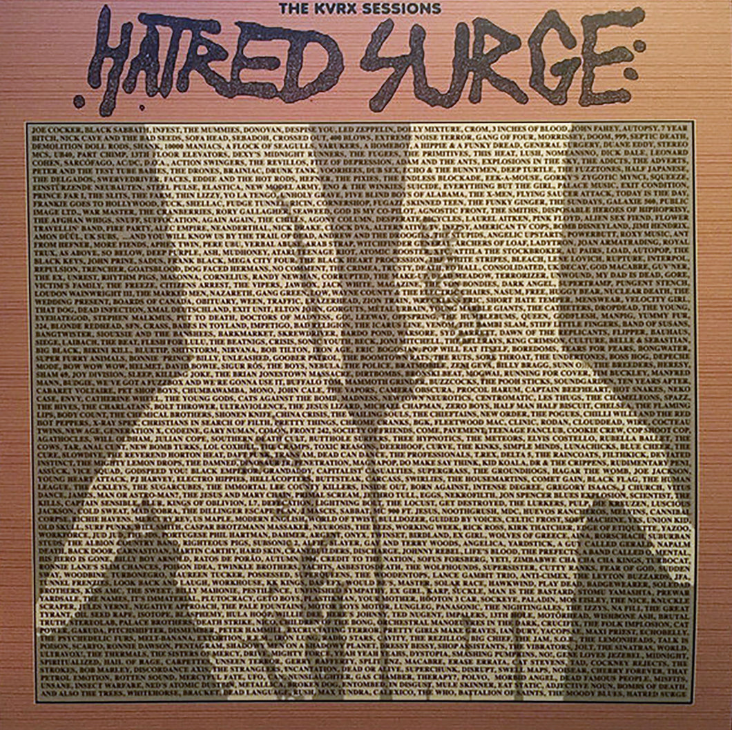 HATRED SURGE - The KVRX Sessions