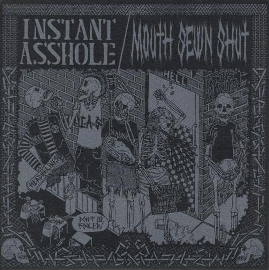 INSTANT ASSHOLE | MOUTH SEWN SHUT Split