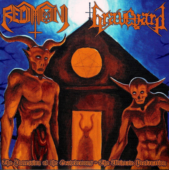 REDIMONI | GRAVEYARD - The Procession of the Gravedemons: The Ultimate Profanation Split EP