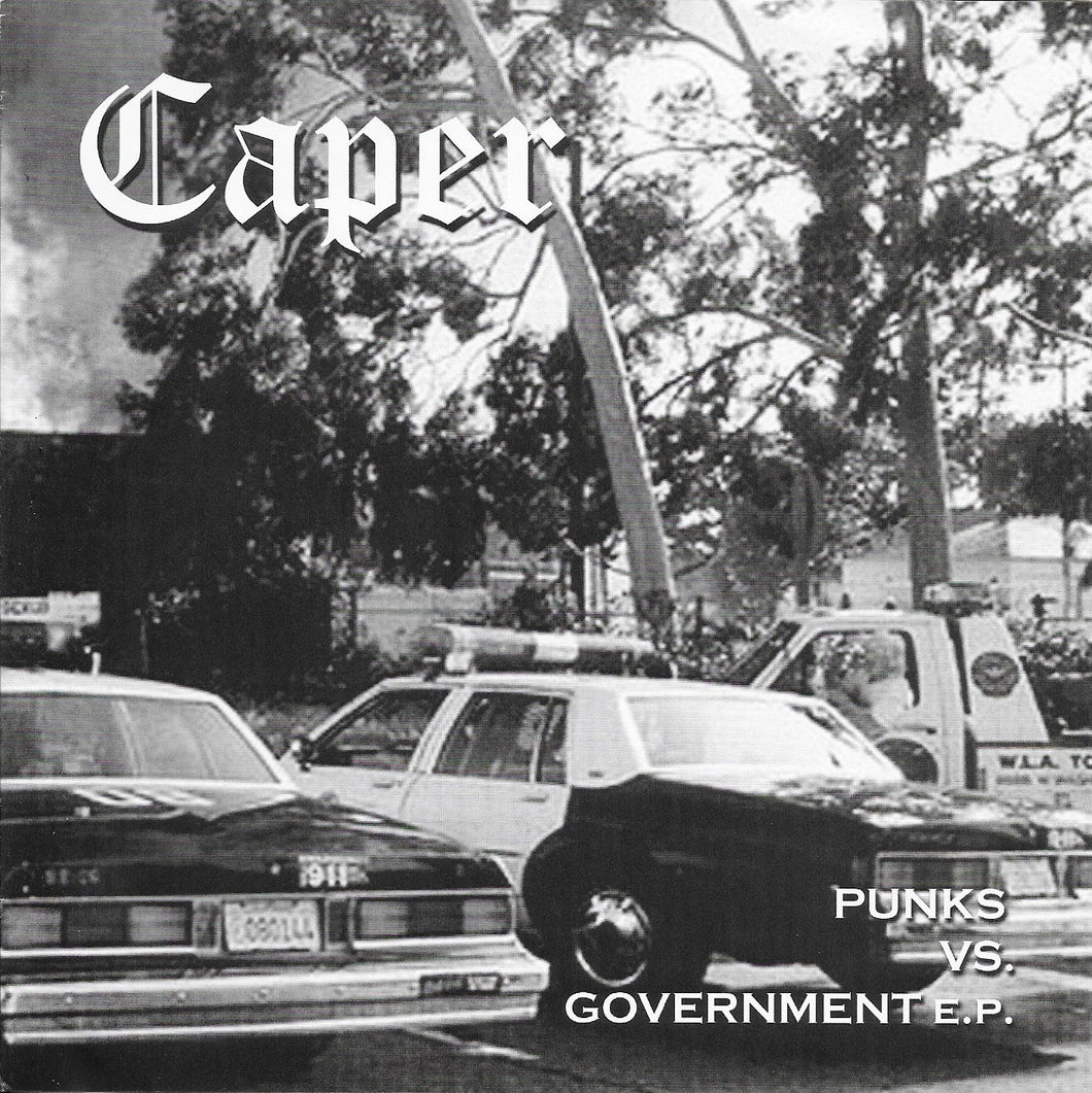 CAPER - Punks vs. Government