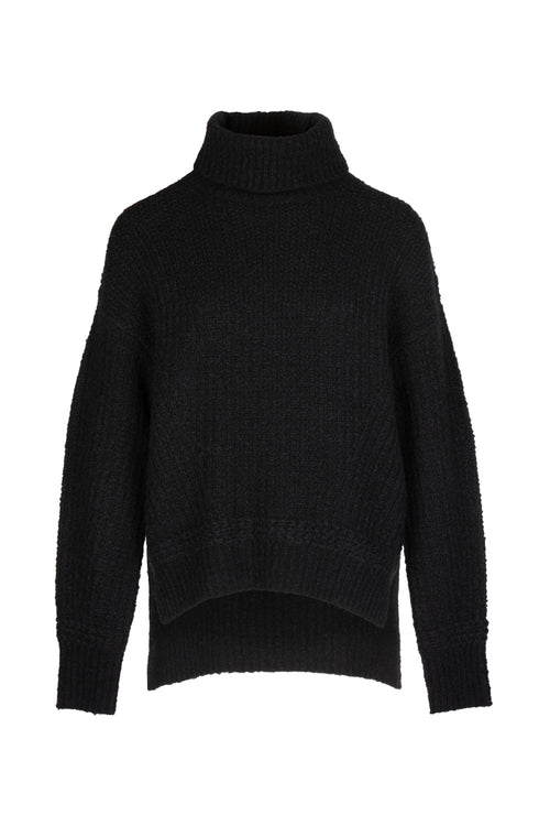 Crop | Knit | Black