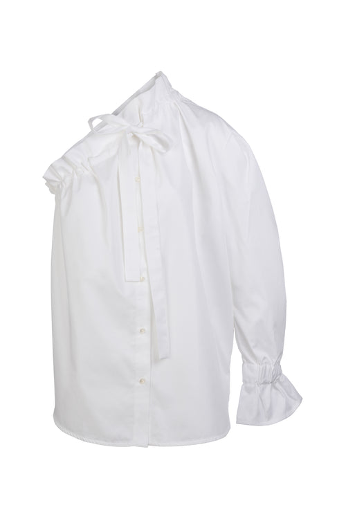 Ruffle | Shirt | White