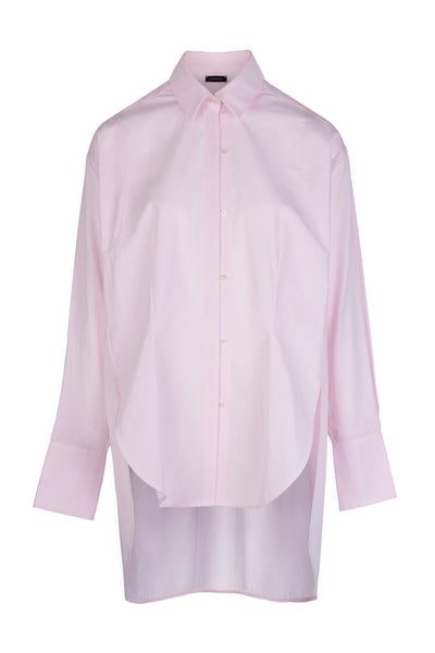 Double Placket | Shirt | Soft Pink
