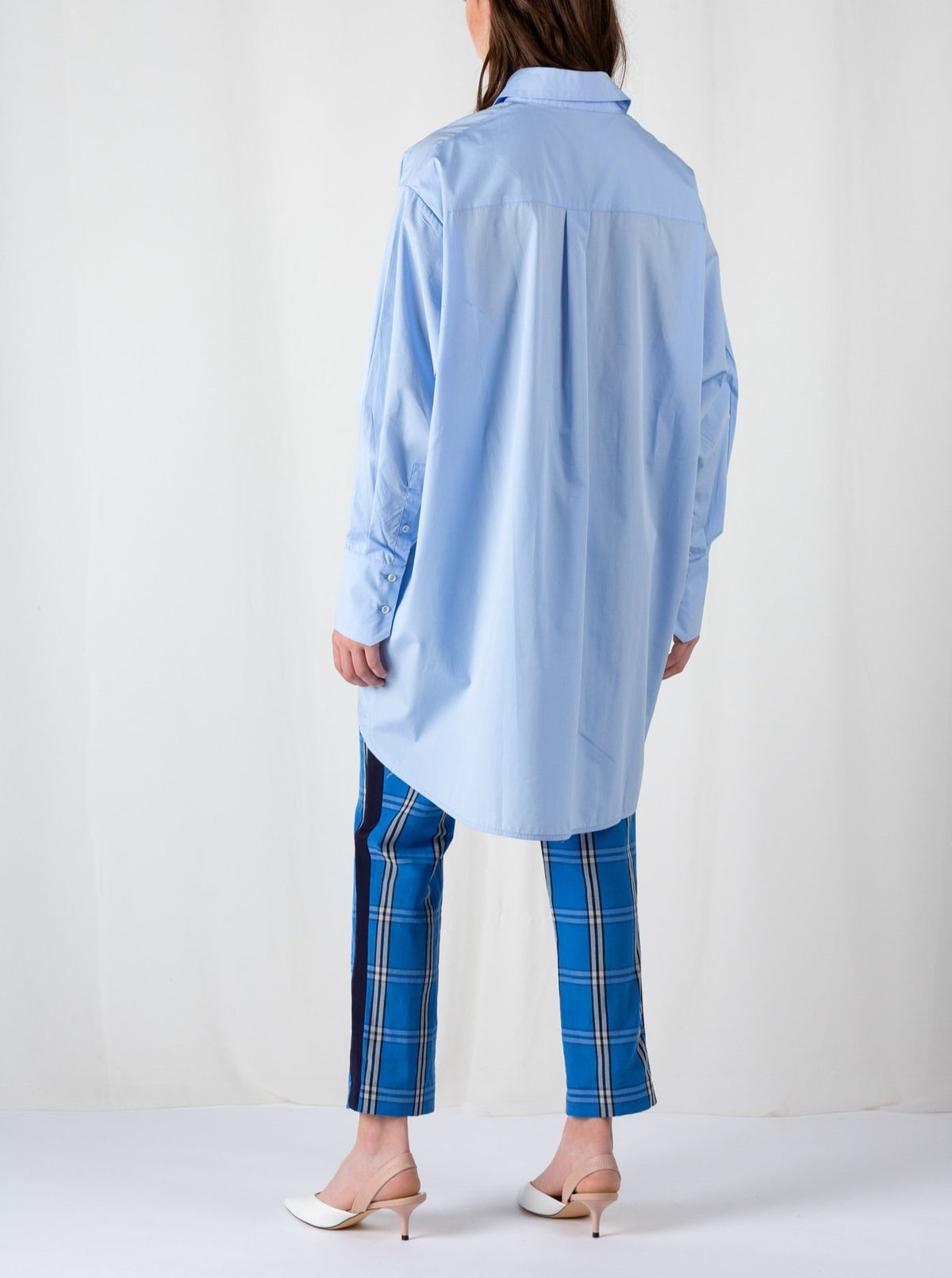 Double Placket | Shirt | Light Blue