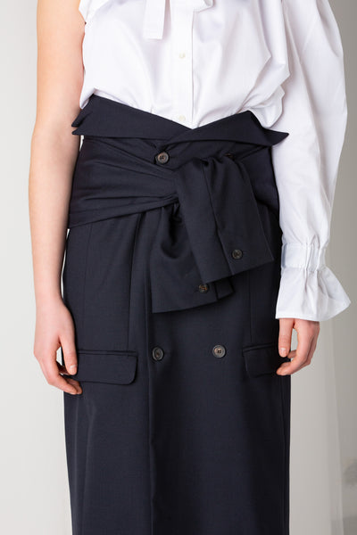 Suit | Skirt | Dark Navy