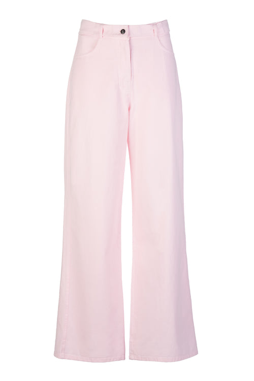 Tuck | Pants | Soft Pink
