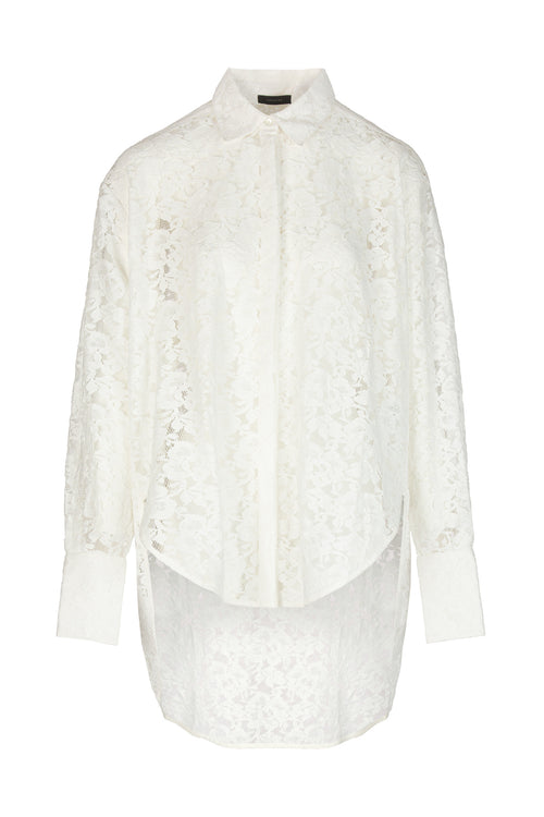 Lace | Shirt | Off-White