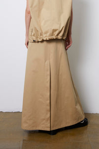 Rock | Skirt | Beige