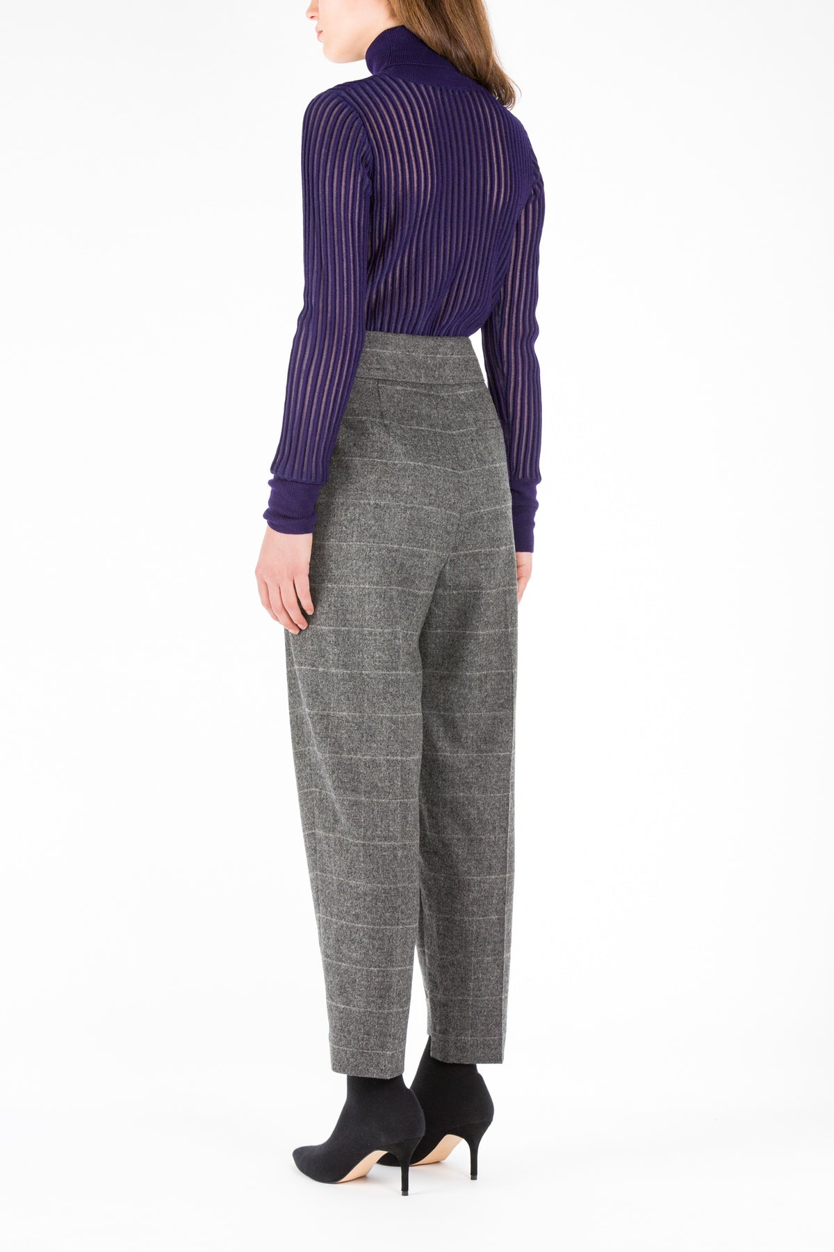 Turn | Pants | Grey Melange