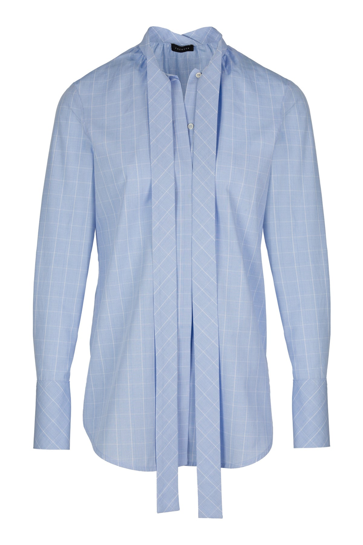 Counter | Shirt | Check Light Blue