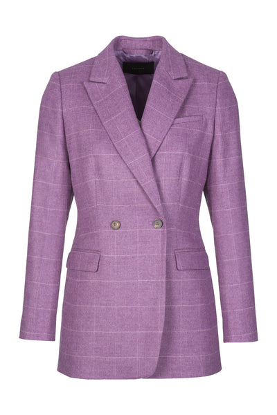 Double Button | Blazer | Lilac