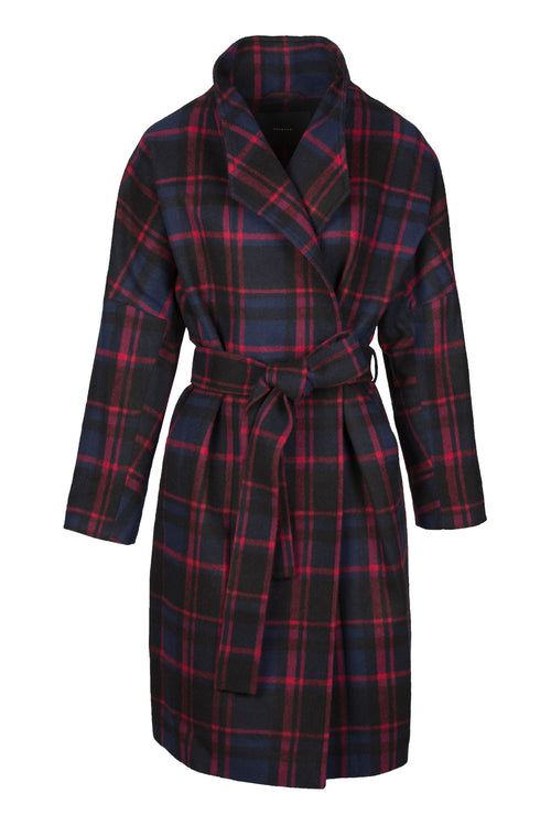 Fluster | Coat | Red Check
