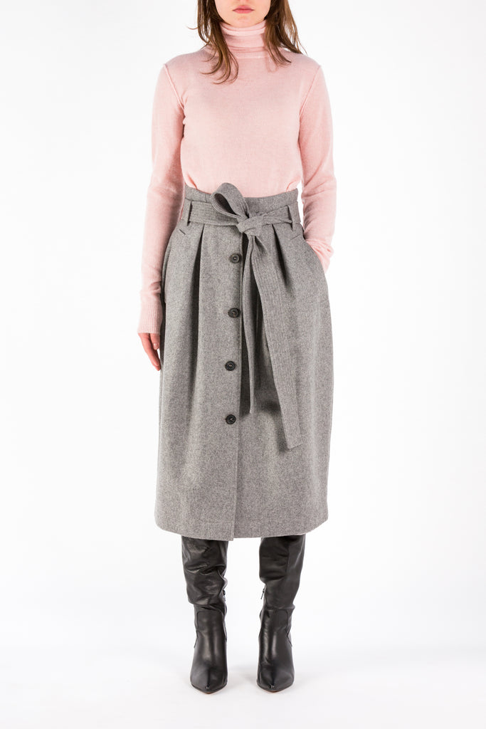 Belt | Skirt | Light Grey Melange