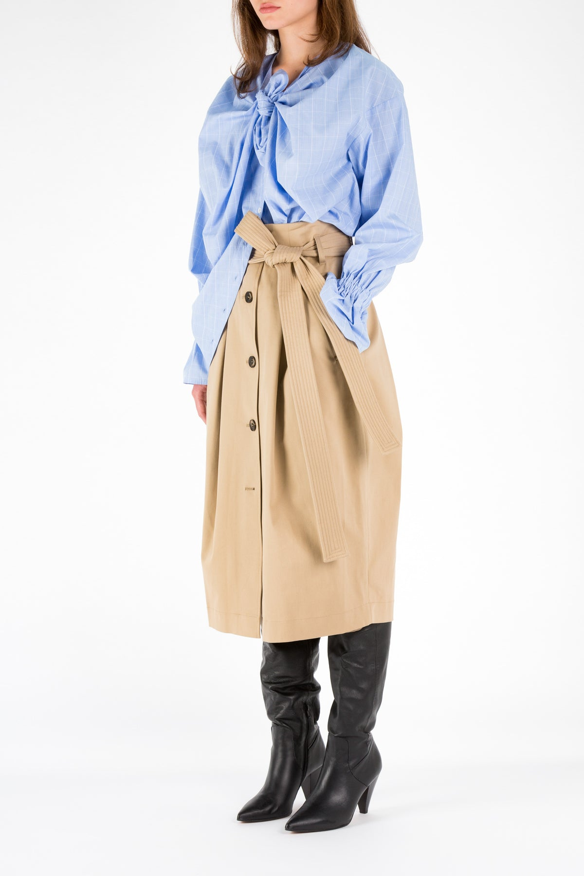 Belt | Skirt | Camel