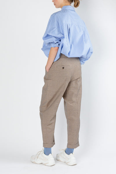 Weel | Trouser | Sand Check