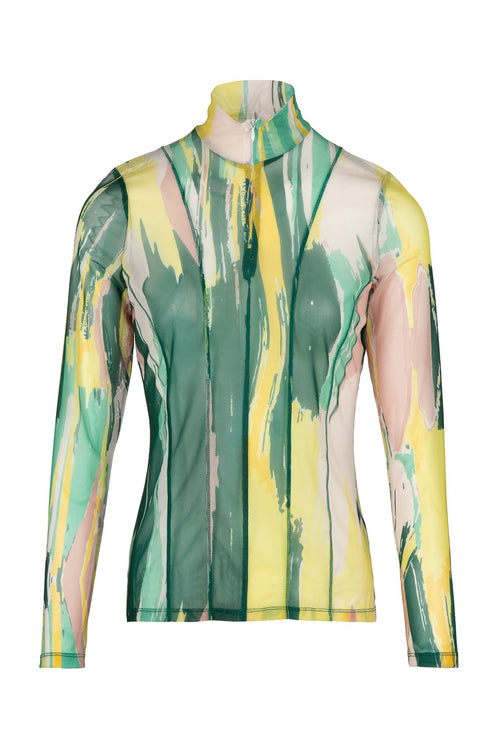 Swim | Top | Paint Print