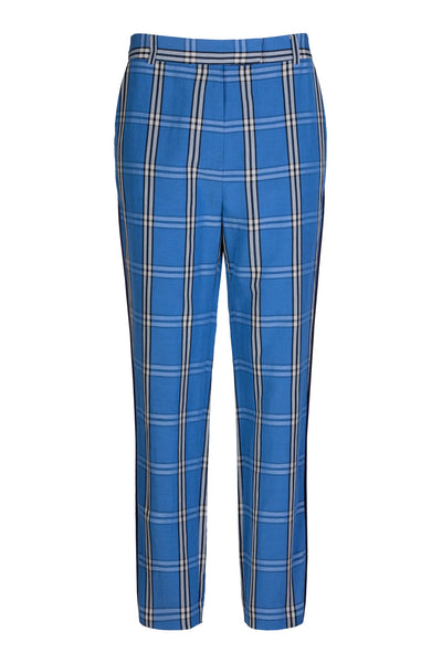Blocked Stripe | Pants | Azure Check