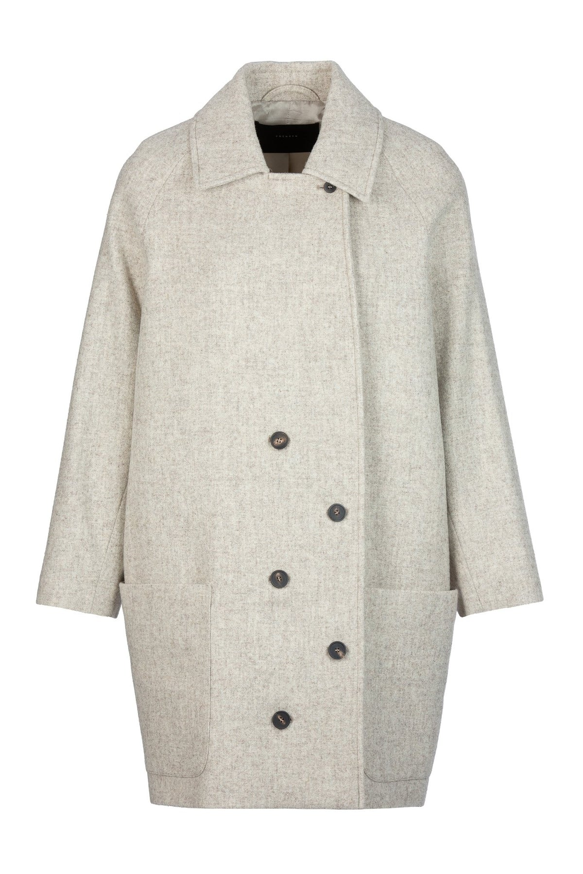 Timed | Coat | Oatmeal Melange