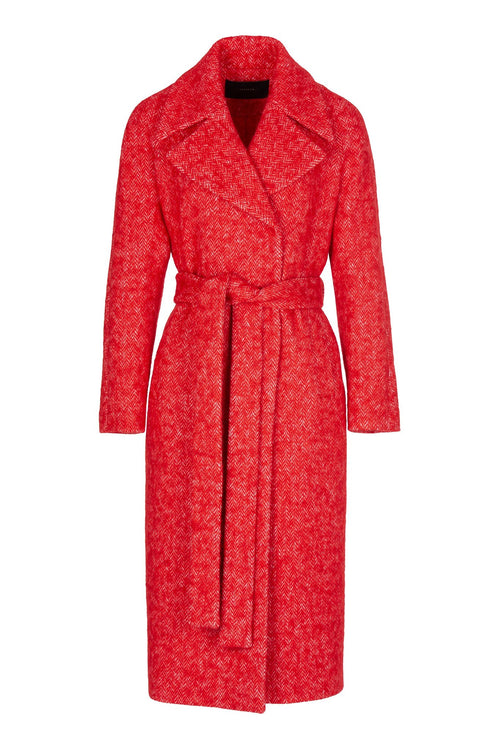 Wanted | Coat | Fire Red