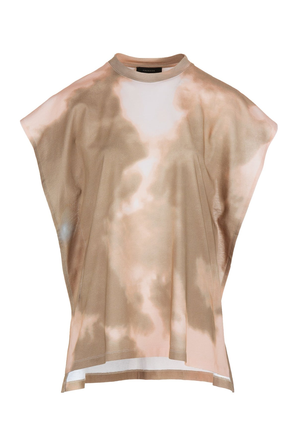 Cloud | Top | Beige Smoke Print