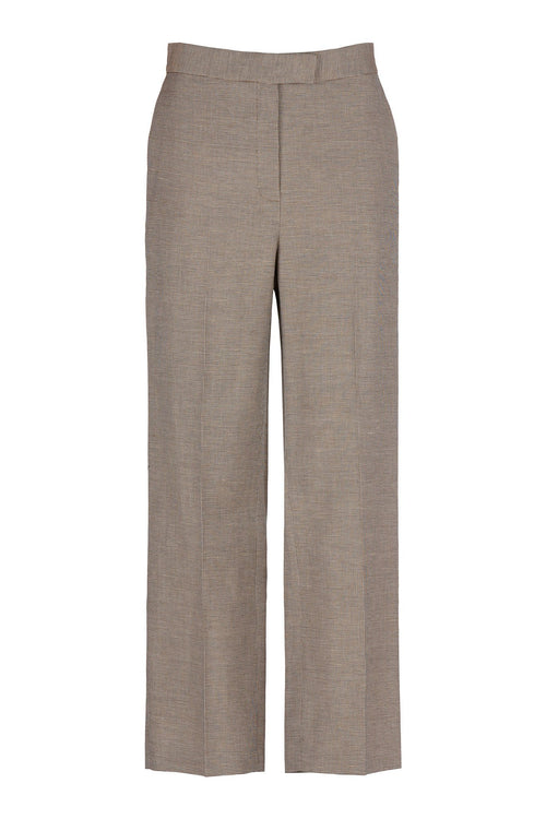 Ralied | Trouser | Sand Check
