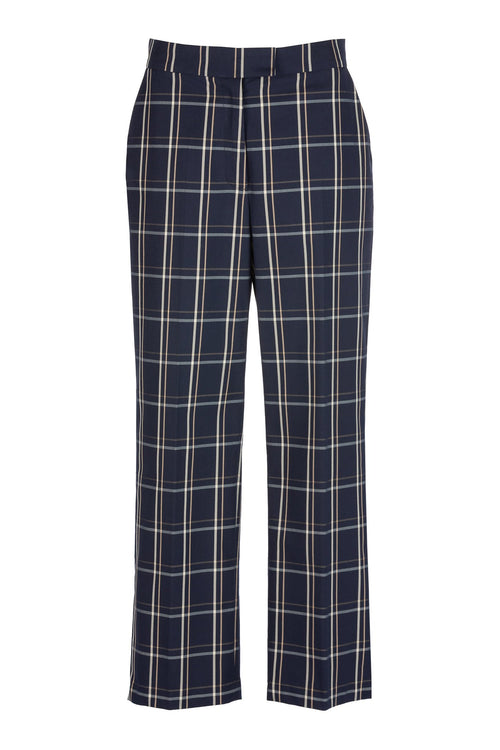 Ralied | Trouser | Navy Check