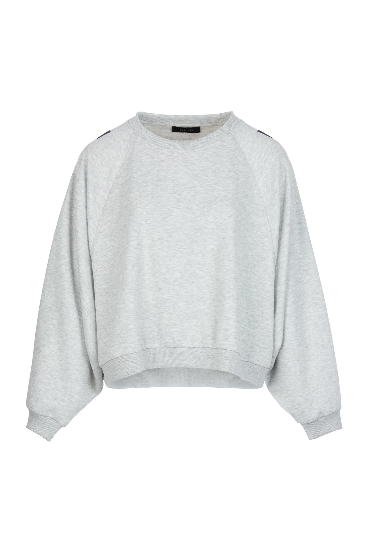 Etappe | Knitted Top | Grey Melange