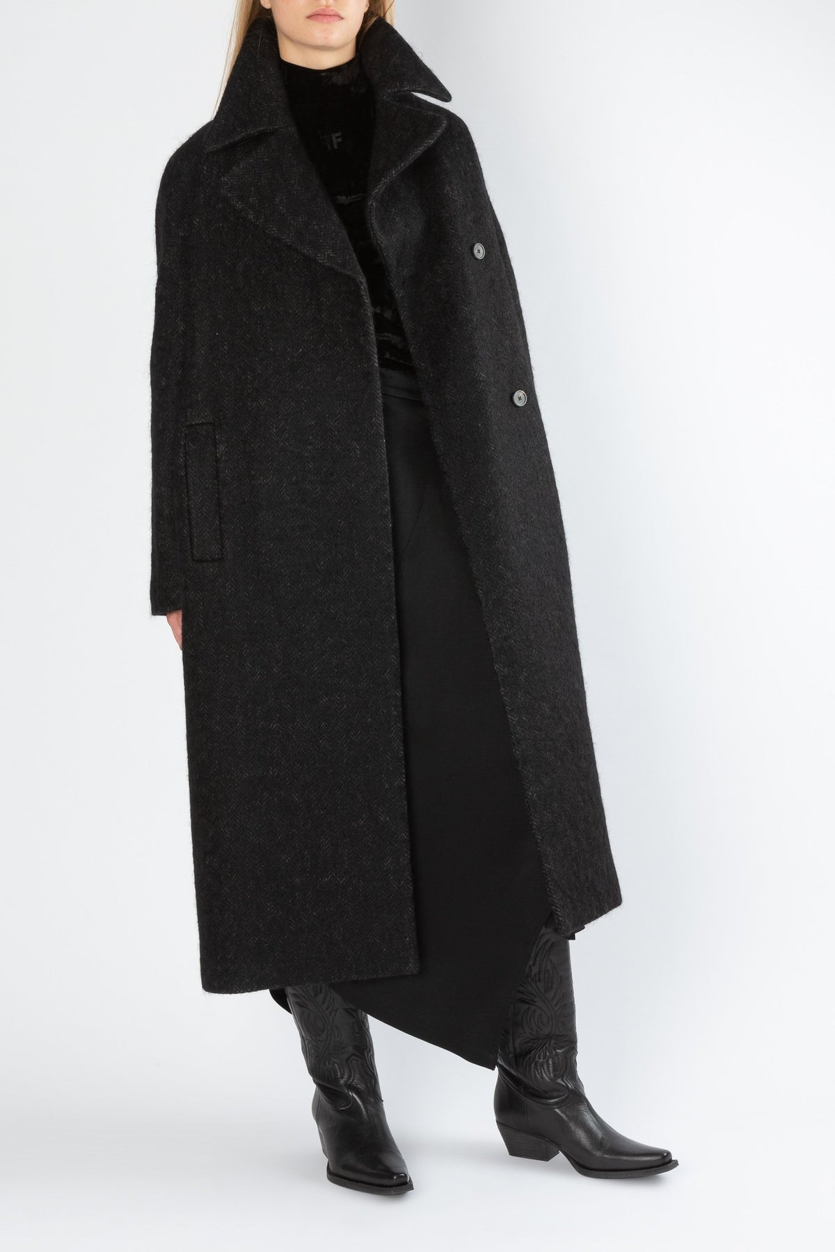Wanted | Coat | Black