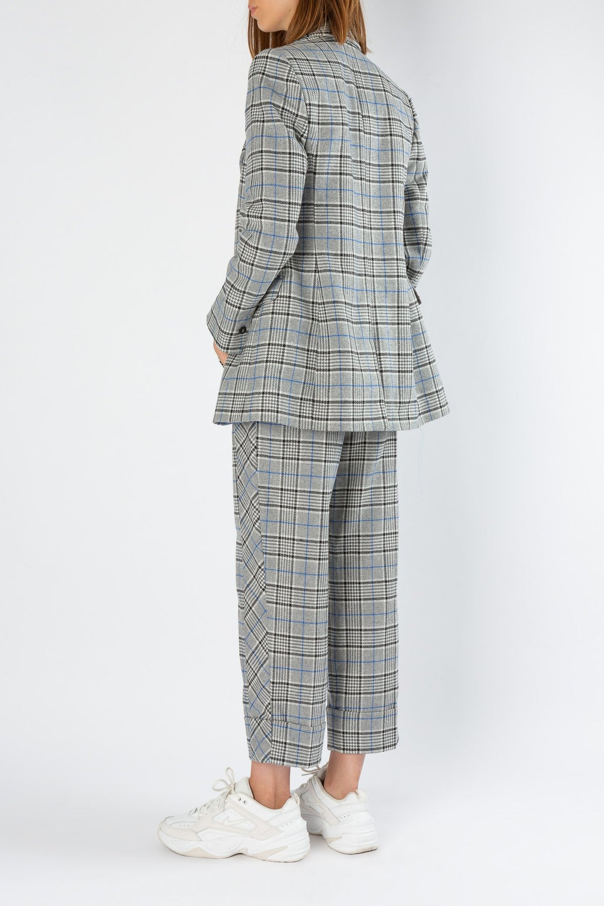 Pattern | Blazer | Black & Grey Check