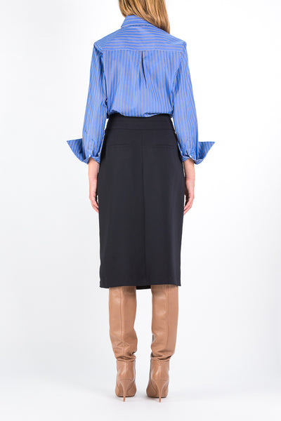 Twin | Skirt | Dark Navy
