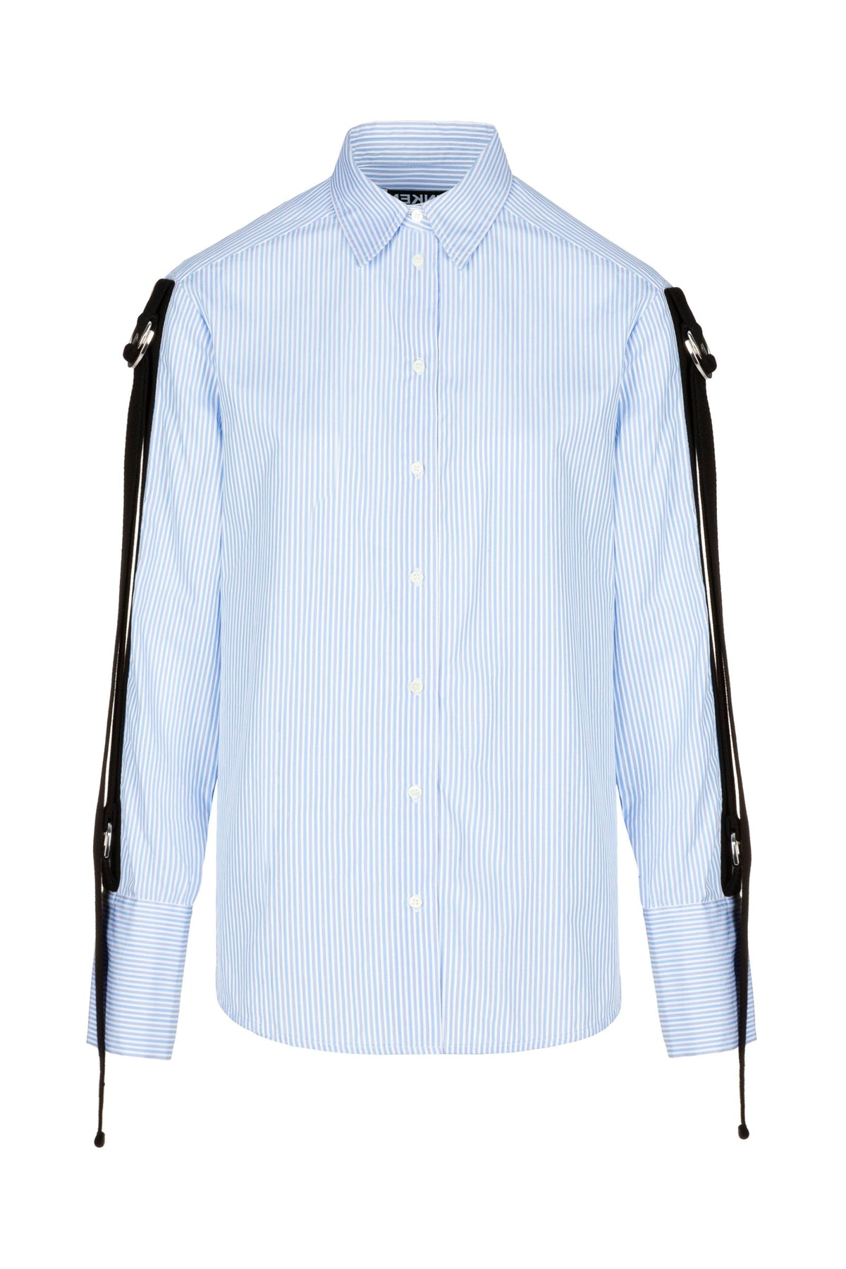 Grade2 | Shirt | Blue Grandpa Stripe