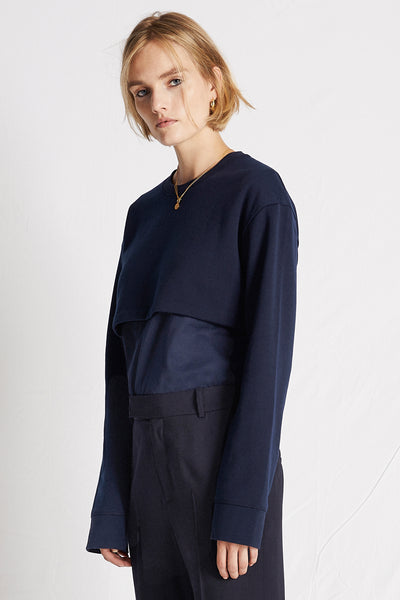 More | Top | Dark Navy