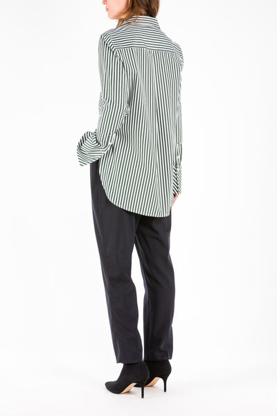 Office | Shirt | Green Stripe