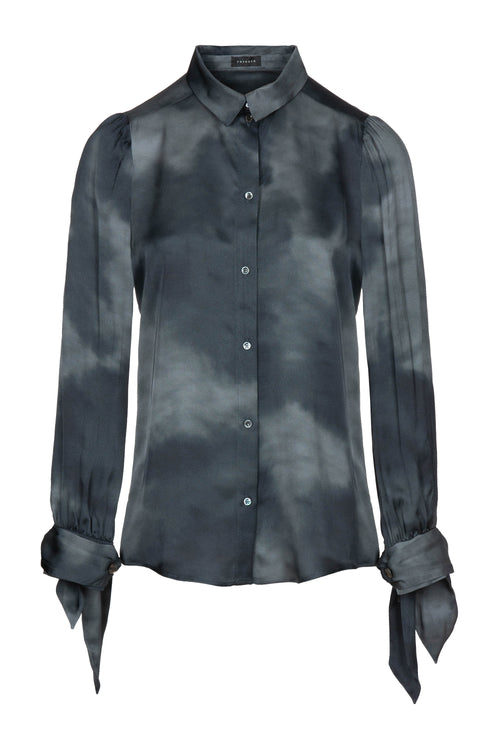 Straps | Shirt | Black Smoke Print