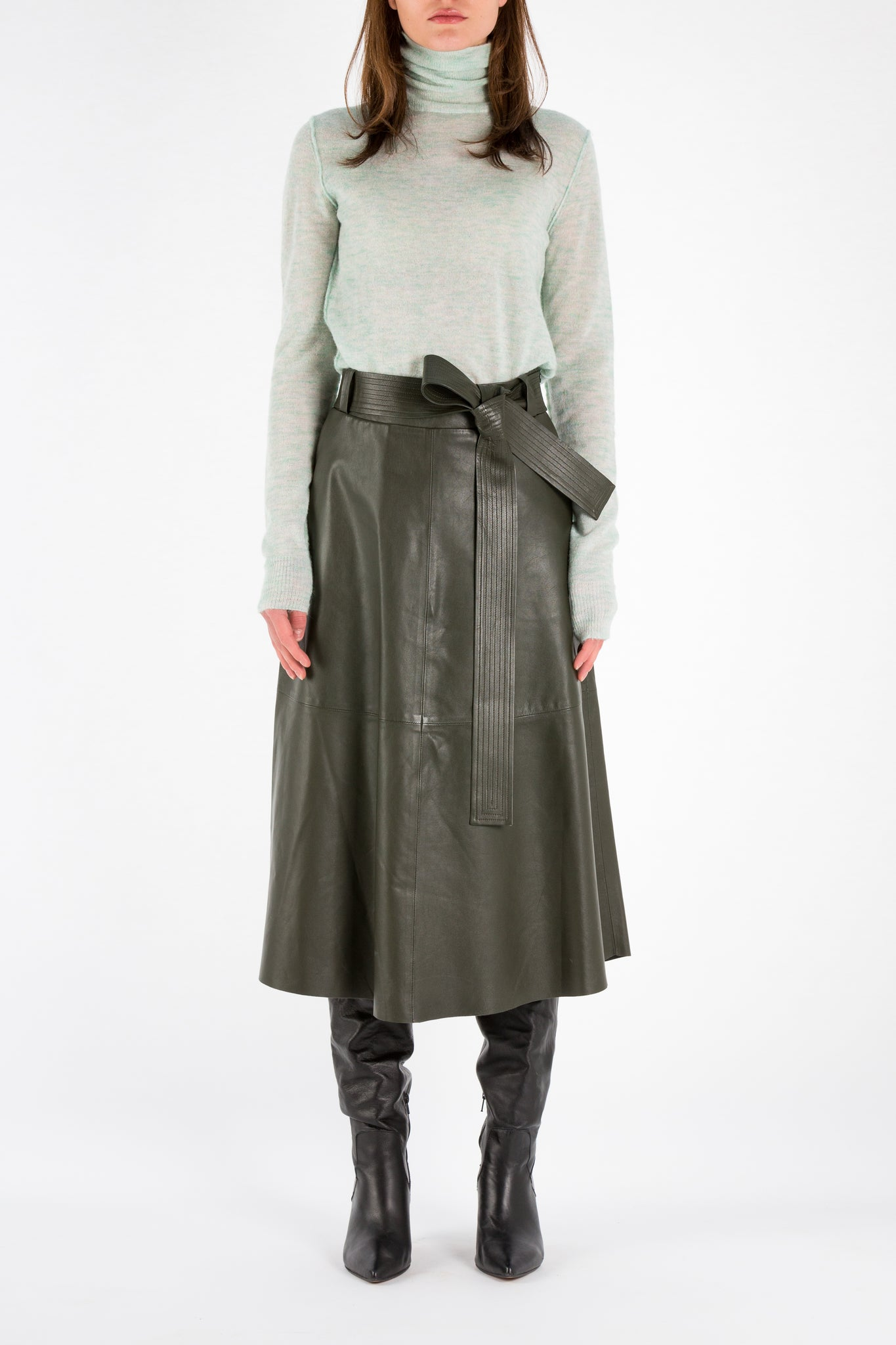 Skull | Skirt | Dark Green