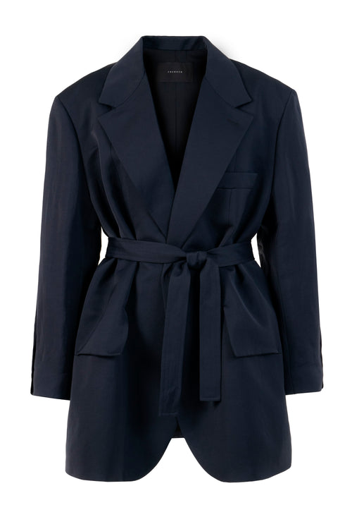Wrap | Blazer | Navy