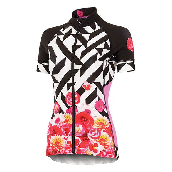 Shebeest Divine Kleo Bloom Short Sleeve Jersey