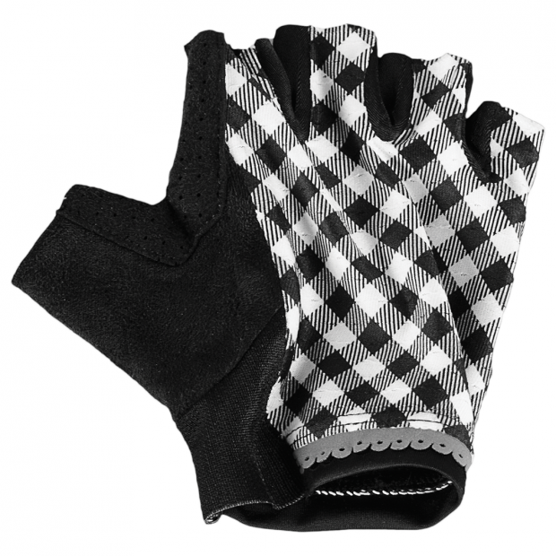 Shebeest Gingham Style Women's Glove- Black
