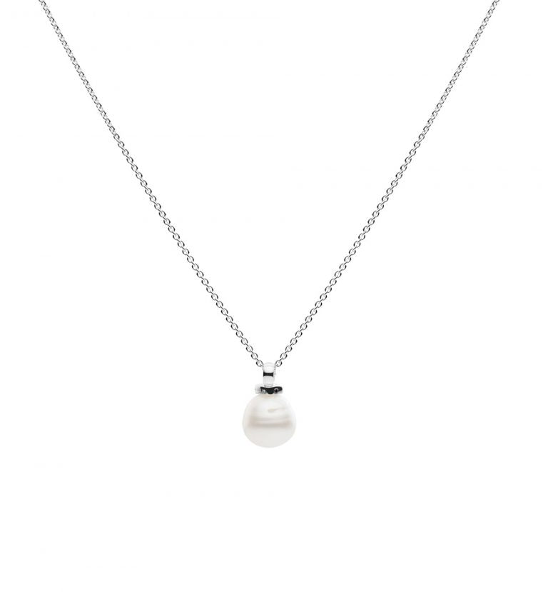 Kailis Geometric Pearl Necklace
