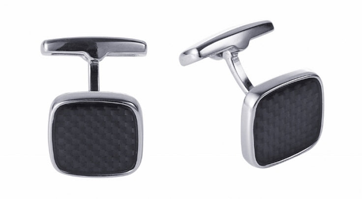 Cudworth Black Carbon Fibre Cufflinks