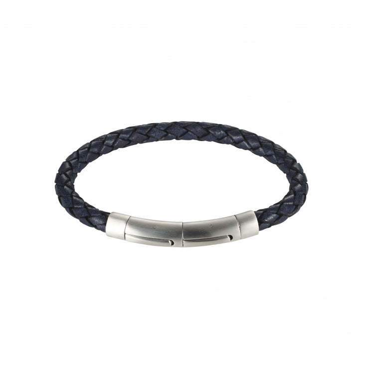 Cudworth Nero Italian Leather Bracelet