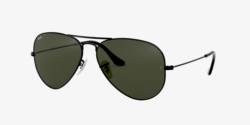 Ray-Ban Aviator Classic Black/Green