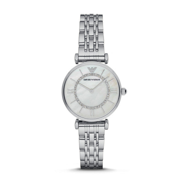 Emporio Armani Two-hands Stainless Steel Watch