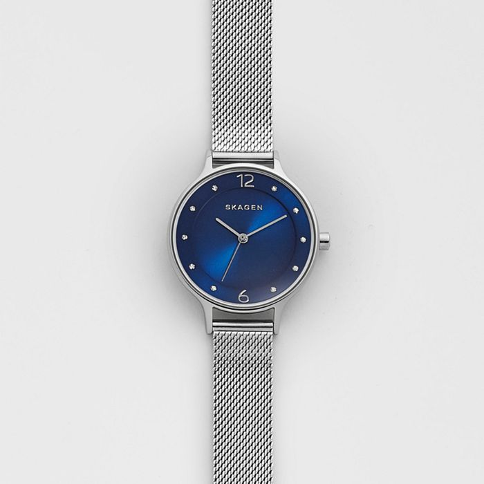Skagen Anita Steel-Mesh Watch