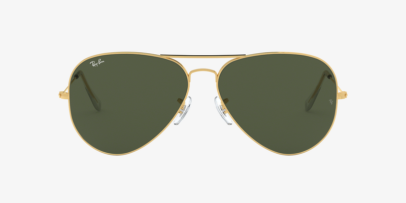 Ray-Ban Aviator Classic Gold/Green (X-Large)
